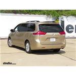 etrailer.com Trailer Hitch Installation - 2011 Toyota Sienna
