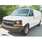Trailer Hitch Installation - 2012 Chevrolet Express Van - Curt