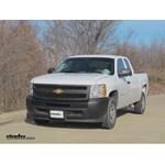 Trailer Hitch Installation - 2012 Chevrolet Silverado - Curt