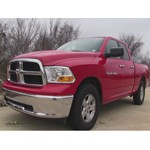 Trailer Hitch Installation - 2012 Dodge Ram