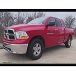 Trailer Hitch Installation - 2012 Dodge Ram