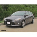 Trailer Hitch Installation - 2012 Ford Focus - Draw-Tite