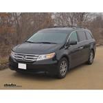 Trailer Hitch Installation - 2012 Honda Odyssey - Curt