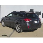 Trailer Hitch Installation - 2012 Subaru Outback Wagon - Curt