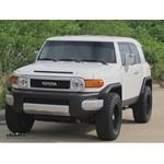 Trailer Hitch Installation - 2012 Toyota FJ Cruiser - Curt