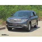 Trailer Hitch Installation - 2012 Toyota Highlander - Curt