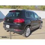 Trailer Hitch Installation - 2012 Volkswagen Tiguan - Draw-Tite