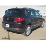 Trailer Hitch Installation - 2012 Volkswagen Tiguan - Curt