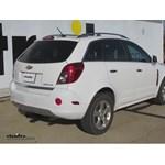 Trailer Hitch Installation - 2013 Chevrolet Captiva Sport - Curt