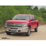 Trailer Hitch Installation - 2013 Chevrolet Silverado - Curt