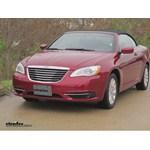 Trailer Hitch Installation - 2013 Chrysler 200 - Draw-Tite