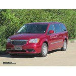 Trailer Hitch Installation - 2013 Chrysler Town and Country - Curt