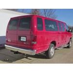 Trailer Hitch Installation - 2013 Ford Van - Curt