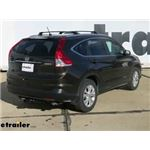 etrailer.com Trailer Hitch Installation - 2013 Honda CR-V