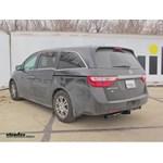 Trailer Hitch Installation - 2013 Honda Odyssey - Draw-Tite