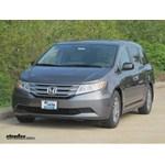 Trailer Hitch Installation - 2013 Honda Odyssey - Curt