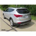 Trailer Hitch Installation - 2013 Hyundai Santa Fe - Draw-Tite