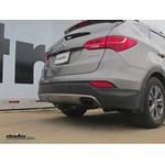 Trailer Hitch Installation - 2013 Hyundai Santa Fe - Curt