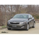 Trailer Hitch Installation - 2013 Kia Optima - Curt