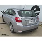Trailer Hitch Installation - 2013 Subaru Impreza - Curt