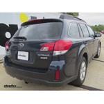Trailer Hitch Installation - 2013 Subaru Outback Wagon - Draw-Tite