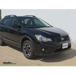 Trailer Hitch Installation - 2013 Subaru XV Crosstrek - Curt