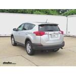 Trailer Hitch Installation - 2013 Toyota RAV4 - Curt