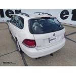Trailer Hitch Installation - 2013 Volkswagen Jetta SportWagen - Draw-Tite