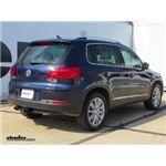 Trailer Hitch Installation - 2013 Volkswagen Tiguan - Curt