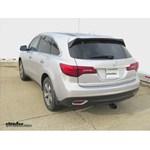 Trailer Hitch Installation - 2014 Acura MDX - Curt
