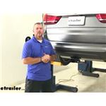 Draw-Tite Max-Frame Trailer Hitch Installation - 2014 BMW X5