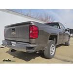 Trailer Hitch Installation - 2014 Chevrolet Silverado 1500 - Curt