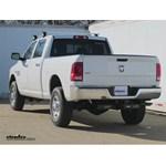Trailer Hitch Installation - 2014 Dodge Ram 2500 - Curt
