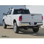 Trailer Hitch Installation - 2014 Dodge Ram 2500 - Curt