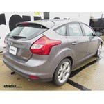 Trailer Hitch Installation - 2014 Ford Focus - Draw-Tite