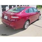 Trailer Hitch Installation - 2014 Ford Fusion - Curt