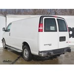 Trailer Hitch Installation - 2014 GMC Savana Van - Curt