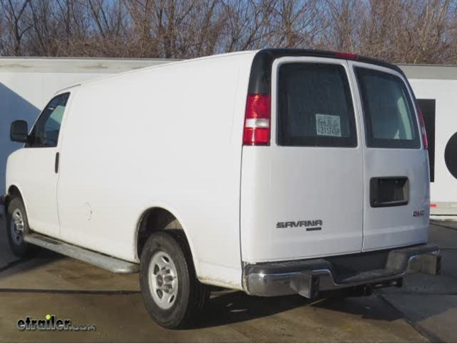 2018 Gmc Savana Van Draw