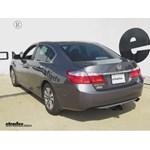 Trailer Hitch Installation - 2014 Honda Accord - Draw-Tite