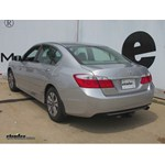 Trailer Hitch Installation - 2014 Honda Accord - Curt