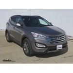 Trailer Hitch Installation - 2014 Hyundai Santa Fe