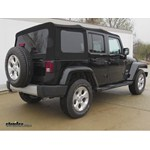 Trailer Hitch Installation - 2014 Jeep Wrangler Unlimited - Curt
