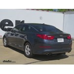 Trailer Hitch Installation - 2014 Kia Optima - Curt