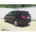 Trailer Hitch Installation - 2014 Kia Sorento - Curt
