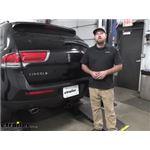 etrailer Class III Trailer Hitch Installation - 2014 Lincoln MKX