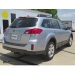 Trailer Hitch Installation - 2014 Subaru Outback Wagon - Draw-Tite