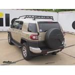 Trailer Hitch Installation - 2014 Toyota FJ Cruiser - Curt
