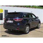Trailer Hitch Installation - 2014 Toyota Highlander - Draw-Tite
