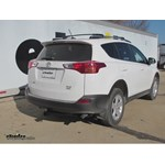 Trailer Hitch Installation - 2014 Toyota RAV4 - Curt