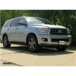 Front Mount Trailer Hitch Installation - 2014 Toyota Sequoia - Curt